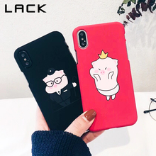 Buy LACK Cute Cartoon Pig Pattern Phone Case iphone X Case iphone 6 6S 7 8 Plus Fashion Ultra thin Hard Cover Couples Cases for $1.73 in AliExpress store