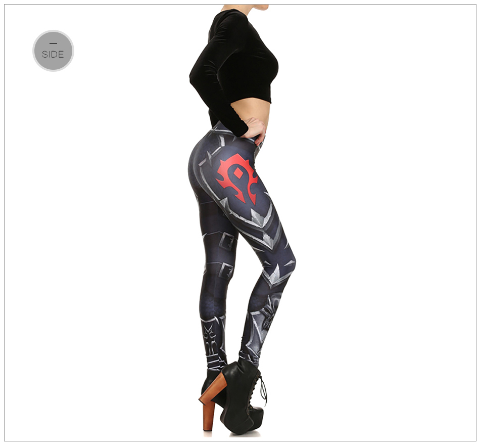 17 New Design Spring Summer WOW OF THE HORDE Legins Popular Fashion Leggins Printed Women Leggings 17