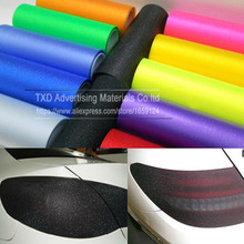 30X100CM/Lot Matt Glitter Headlight Film Lights Taillight Tint Vinyl Film Frost headlight glitter film for light protection(China)