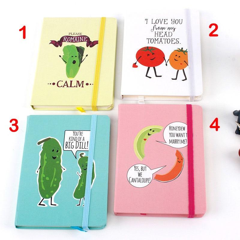 Korea-stationery-A5-Notebook-Vegetable-Creative-Hardcover-Notebook-Horizontal-Page-Organizer-Agenda-2018-School-office-Supplies3