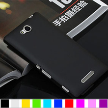 Buy Fashion High Technology Material Hard Case Sony Xperia C 2305 /S39h Case BUltra-Thin Back Matte Skin Cover Cases for $2.15 in AliExpress store