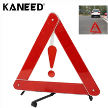 Car Triangle Warning Foldable Board Car Parking Reflective Safety Warning Emergency Triangles Signs(China)