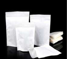Cotton paper packaging bags Tea bag inside Pastry bags Environmental health tasteless moistureproof package pouches(China)