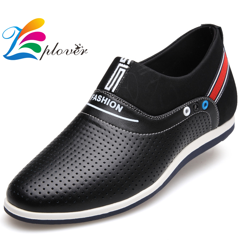 Zplover 2017 New Spring Autumn Men Genuine Leather Shoes Fashion Breathable Driving Men Loafers Shoes Zapatillas hombre<br>
