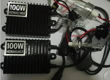 Fast Start HID KIT 100W hid xenon ballast + 100w CN Bulb Lamp Light H1 H3 H7 880 881 9005 9006 H11 D2 D2H 4300k 6000k 8000K(China)