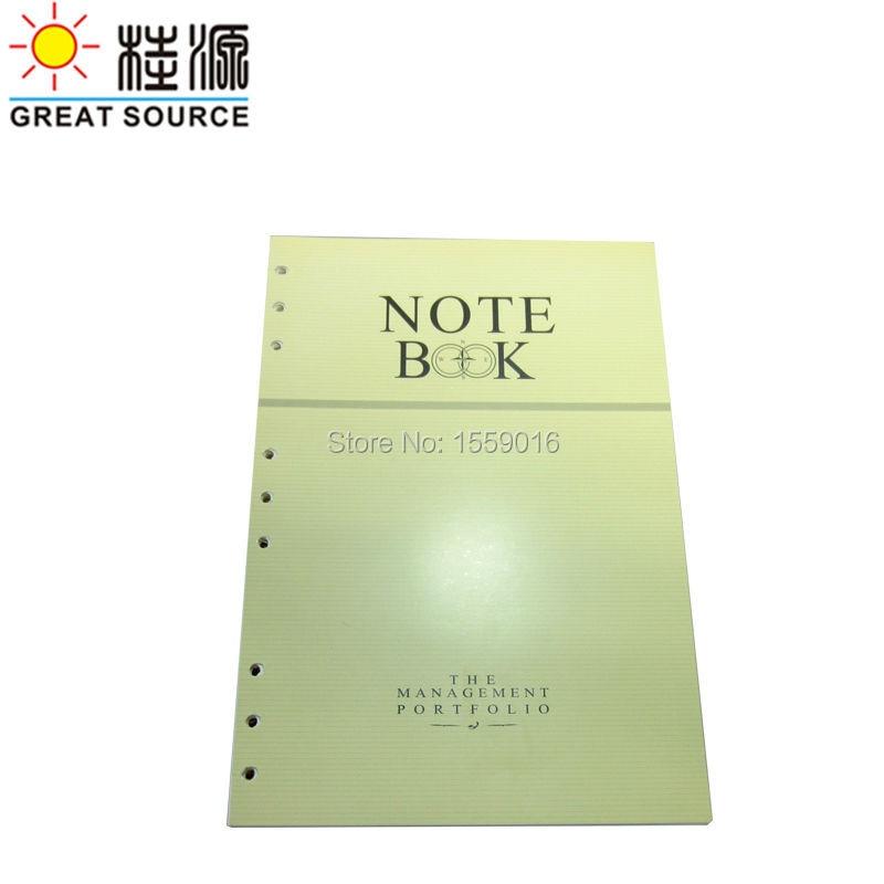 B5 paper inserts