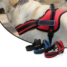 New Saddle Type Big Dogs Chest Straps Seeing-eye Dog Pet Comfortable Oxford Cloth Chest Clothes Back Large Breed Apply Vest