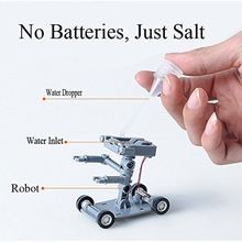 DIY Salt Water Robot Toys Construction Robot Powered Kit Science and Technology Toys Experiment Educational Toys for children