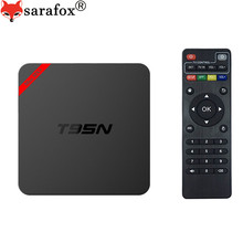 T95N Android TV Box Quad Core S905X 1GB 2GB 8GB Smart Set top box HD H.265 Video Decode network Media player 4K DLAN