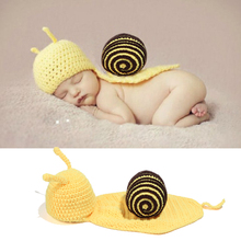 Cute Tortoise Style Baby Infant Newborn Handmade Turtle/Ladybug/Snail/Dinosaur Crochet Beanie Hat Clothes Baby Photograph Props