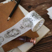 1 Pcs New 24 designs about Gothic Age series Vintage Style washi tape Diary decoration masking tape adhesive