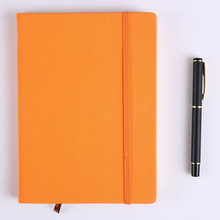 Freeshipping  Faux Leather Cover Office Notebook  Notepad   Diary Book