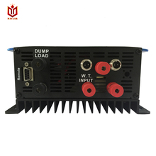 DECEN@ 3 Phase Input45-90V 1000W Wind Grid Tie Pure Sine Wave Inverter For 3 Phase 48V 1000Wind Turbine No Need Extra Controller(China)
