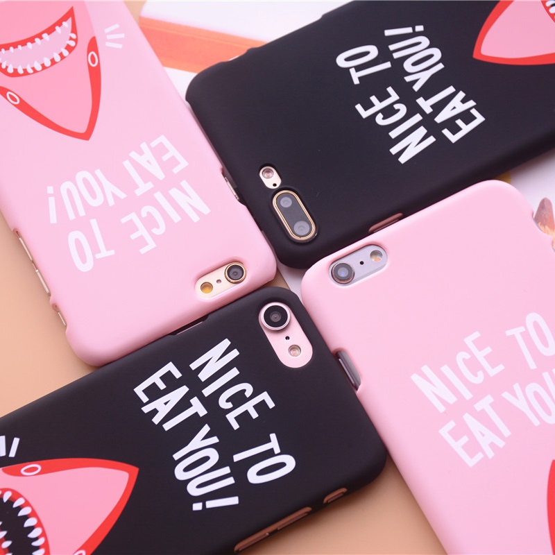 "Nice To Eat You"" Shark Phone Cases 3"