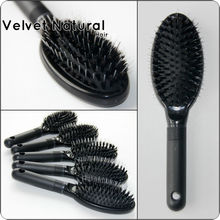 Professional Hair Extension tools of Loop brush comb for Professional Salon used by Hairdresser stying Boar Bristle Hair Brush(China)