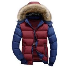 Buy Plus Size M-4XL winter jacket men Casual Slim fit men's coat winter brand man clothes casacos masculino Thick Hooded winter coat for $25.63 in AliExpress store