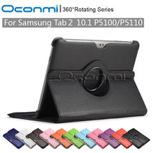 Buy 360 Rotating PU Leather case Samsung Galaxy Tab 2 10.1 inch stand function SM-P5100 SM-P5110 sleeve Tablet cover cases for $8.99 in AliExpress store