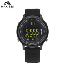 Makibes EX18 Bluetooth 4.0 5ATM Waterproof Smart Watch Call SMS Reminder Pedometer Sleep Monitor Compatibie Android and iOS