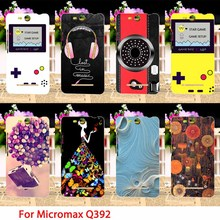 Soft TPU Phone Cases For Micromax Q392 Canvas Power 2 Canvas Juice 3 Case Cool Camera Back Covers Housings Sheaths Skins Shield(China)