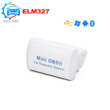 MINI OBD ii ELM327 Bluetooth V2.1 OBD 2 / OBD2 Wireless Car Diagnostic Scanner Work ON Android Auto Scan Tools Multi-Language(China)