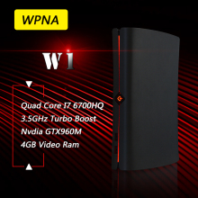 WPNA Nettop W1 intel quad core I7 6700HQ GTX960M 4GB Video Ram 8GB DDR4 256GB SSD WIFI game mini pc windows10 Computer office(China)