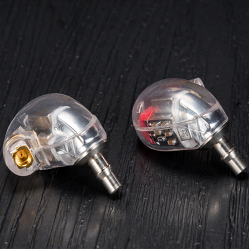 DIY HIFI Custom Made 6BA Balanced Armature BA Drivers Ear headset Around Noise Earphone for shure MMCX se535 cable headphones