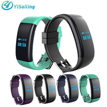 Yisailing DF30 Smart Bracelet watch Bluetooth 4.0 Heart Rate Blood Pressure Oxygen Monitor Wristband IP68 Waterproof Smartband(China)
