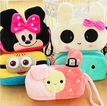 Cartoon Pencil Case Plush Large Capacity Stationery Pen Box Best Personalized Gift For Kids More Kinds Option 04826