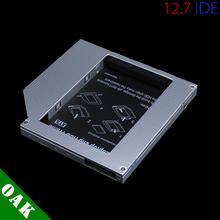 Aluminum 12.7mm IDE to SATA Second HDD Caddy 2.5'' SATA 2nd HDD Hard Disk Driver Caddy for Laptop High Quality