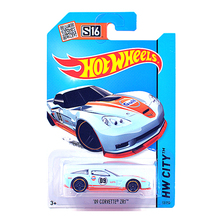 Free Shipping 1:64 Hot Wheels 09 CORVETTE ZR17 Alloy Collectible Model Toy Car For kids C4982