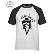 2017 Fashion New Gift Tee Motorhead Casual Skull Print Funny T Shirt for men(China)