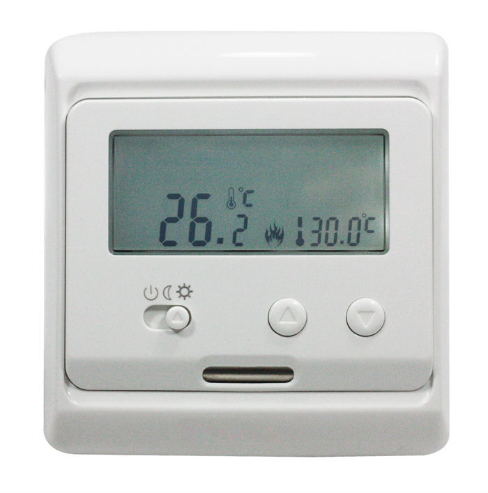 TF Series E31.116 Heating Thermostat With LCD Screen 16A 220V/230V Hot Sale on the Russia and UK market<br>