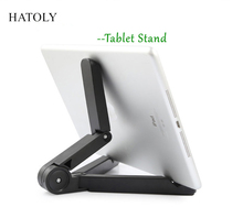 "HATOLY Foldable Adjustable Tablet Holder Portable Fold-UP Stand for Apple IPad Mini 4 Support Less than 10.1"" Mobile Phone <(China)"