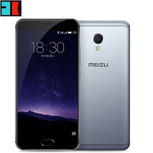 "Original MEIZU MX6 LTE 4G SmartPhone 5.5"" IPS Android 6.0 Phone MTK Helio X20 Deca Core 12.0MP 3GB RAM 32GB ROM Touch ID"