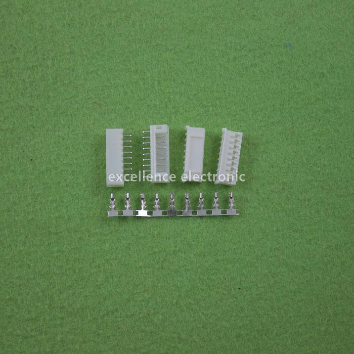 100 Sets, Micro JST 2.0 PH 9-Pin Connector plug Male ,Female, Crimps<br><br>Aliexpress