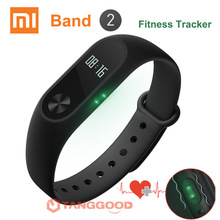 Original Xiaomi Mi Band 2 Smart Bracelet Wristband Miband 2 Fitness Tracker Bracelet Smartband Heart Rate Monitor for iPhone