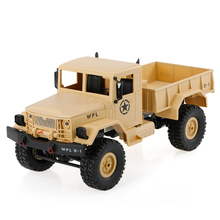Buy WPL B-1 1:16 RC Climbing Military Truck Mini 2.4G 4WD Off-Road RC Cars Off-Road Racing Car RC Vehicles Kids Gift Toys for $45.59 in AliExpress store