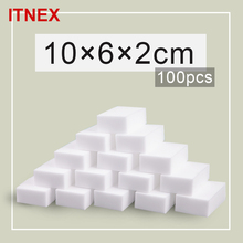 100*60*20mm 100 pcs Magic Sponge Eraser Kitchen Office Bathroom Clean Accessory/Dish Cleaning Melamine sponge nano wholesale-51(China)