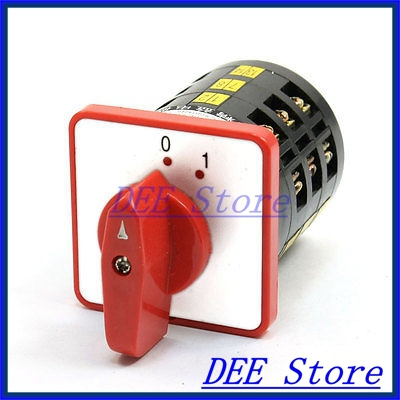 LW6-3/A090 Type ON/OFF 2 Position 18 Screw Terminal Changeover Switch<br><br>Aliexpress