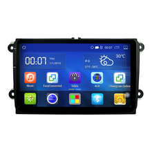 Android 1 DIN 4.4 Universal Car Stereo 9 inch 1024x600 GPS Navigation, WIFI Radio Bluetooth Player 1G DDR3 16G NAND Memory Flash