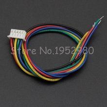 10 Set 1.25mm Pitch Male Connector Wire 15CM Long 28AWG 2/3/4/5/6/7/8/9/10/11/12 Pin JST Single Housing Colorful Cables(China)
