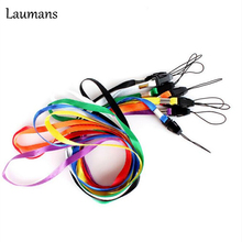 Laumans 5pcs/lot Hot Selling! Neck Strap/Cord Lanyard For Cell Phone Camera Hang Rope Lariat Lanyard Random Delivery Fundas