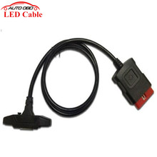 OBD II Cable Best Quality LED OBD2 Cable Suitable New vci LED Cable TCS CDP PRO PLUS cn Post Free Shipping