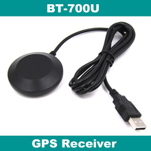 GPS receiver,USB driver,FLASH,NMEA-0183 9600 bps,BT-700U,replace SIRF IV BU-353S4