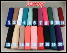 High quality jersey scarf cotton plain elasticity shawls maxi hijab long muslim head wrap long scarves/scarf 10pcs/lot