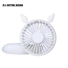 1200MA Rechargeable USB Fan for Home Cartoon Air Conditioning Conditioner Air Cooler for Outdoor Hand Held Mini Ventilation Fans