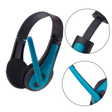 Universal Computer Laptop PC Headphone Ergonomic Design Wired Playing Game Headset Red Blue JM-472 Fashion Good Quality(China)