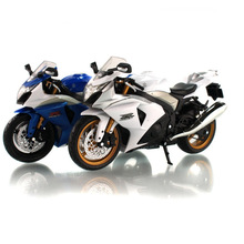 1:12 scale kids moto GSX-R1000 super motorcycle Alloy Die cast metal models toy motorbike race speed car gift toys for children