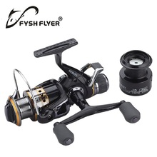 FyshFlyer J3FR Carbon Front and Rear Drags 18KG Max Drag 9+1 BB Metal Spool Sea Boat Spinning Carp Fishing Reel Double Konbs