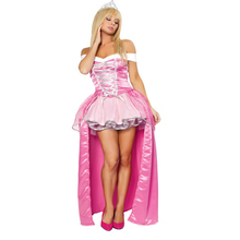 Pink Snow White Princess Halloween Carnival Costume Bridal Gown Princess Long Dress Cosplay Women Sexy Dress in Masquerade Party(China)